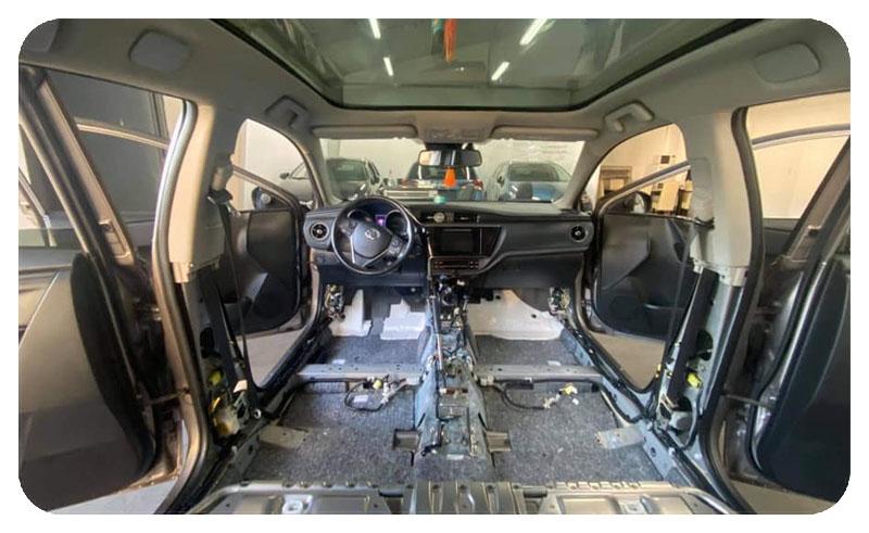 Cooper Car kárpittisztítás