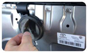 Hibrid akkumulátorszűrő takarítás