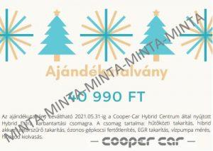 Cooper-Car ajándékutalvány
